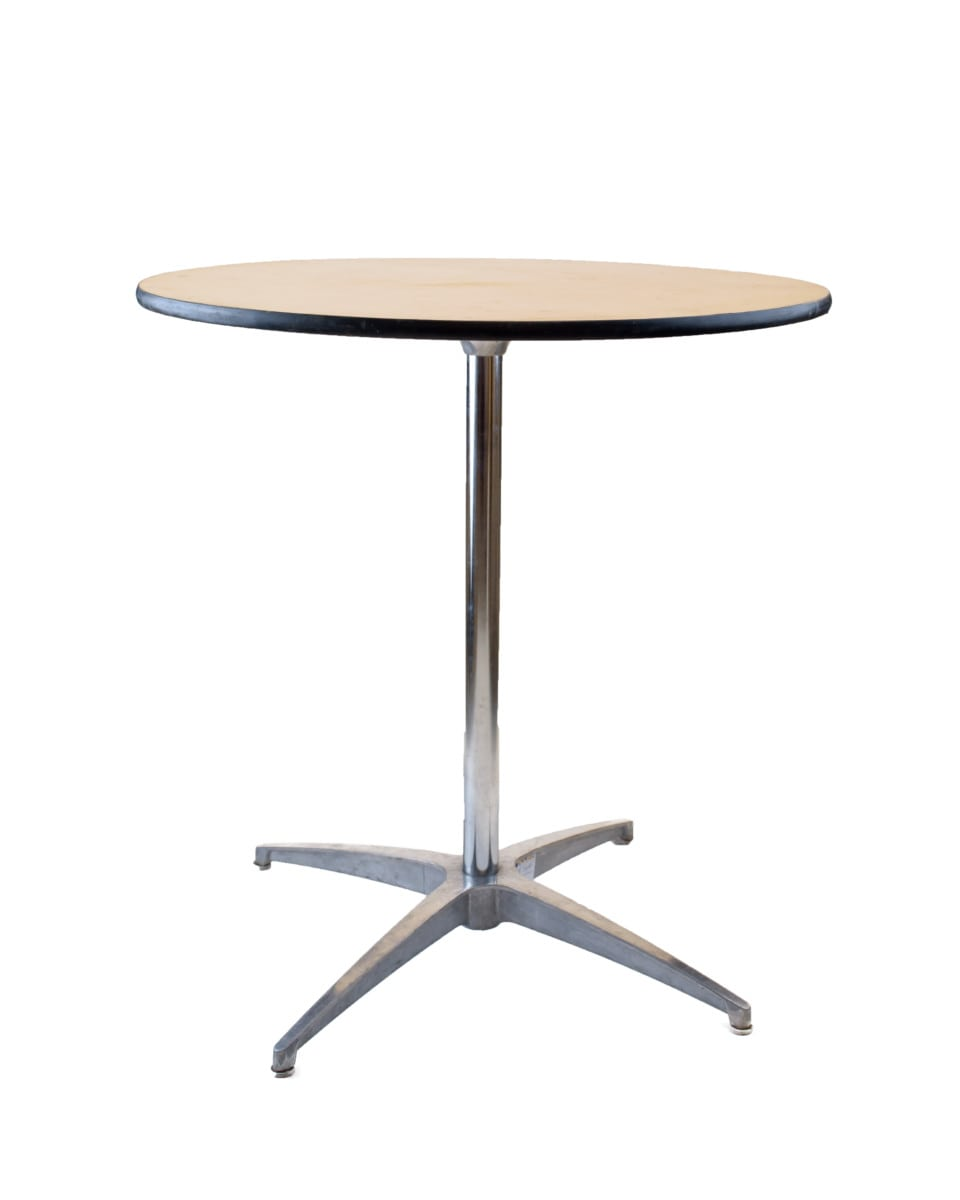 a536b78aac7d60 30″ Round Cabaret Table  8.00   Party Rentals Delivered